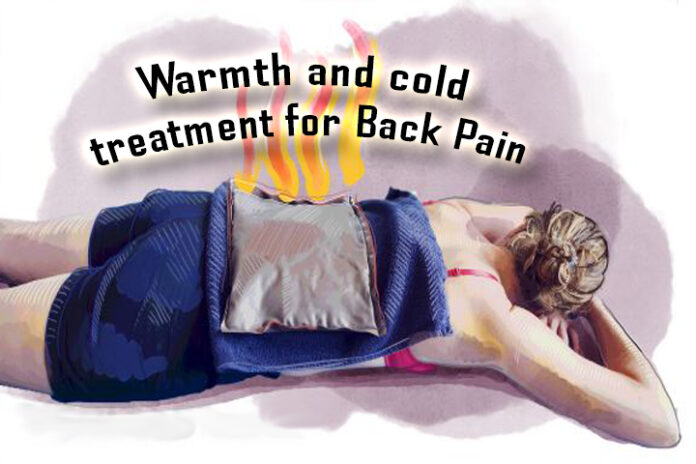 Warmth treatment for Back Pain