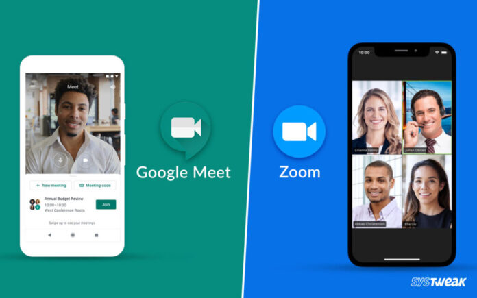 Google Meet or Zoom, which one is better?