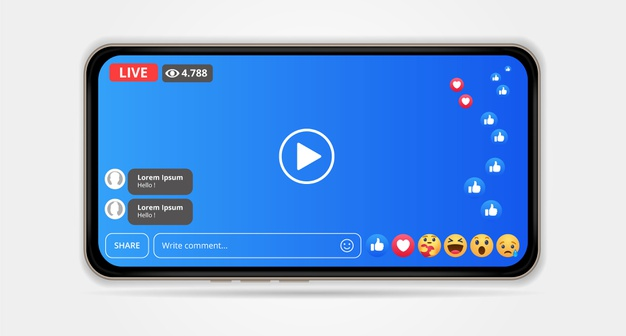 benefits of a live streaming app