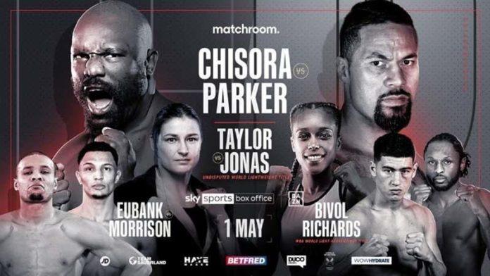 Derek Chisora vs Joseph Parker Live